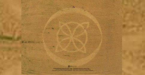 What was the meaning of the Crop Circle - 31/10/2015 - Ipuaçu , Santa Catarina , Brazil